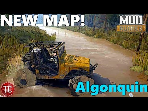 SpinTires MudRunner: NEW MAP - Algonquin | with Download!