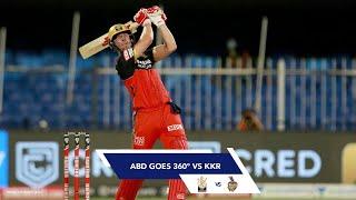 ABD goes 360° against Kolkata Knight Riders