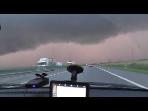 № 30: Сильный дождь. Дорога Краснодар-Ростов.