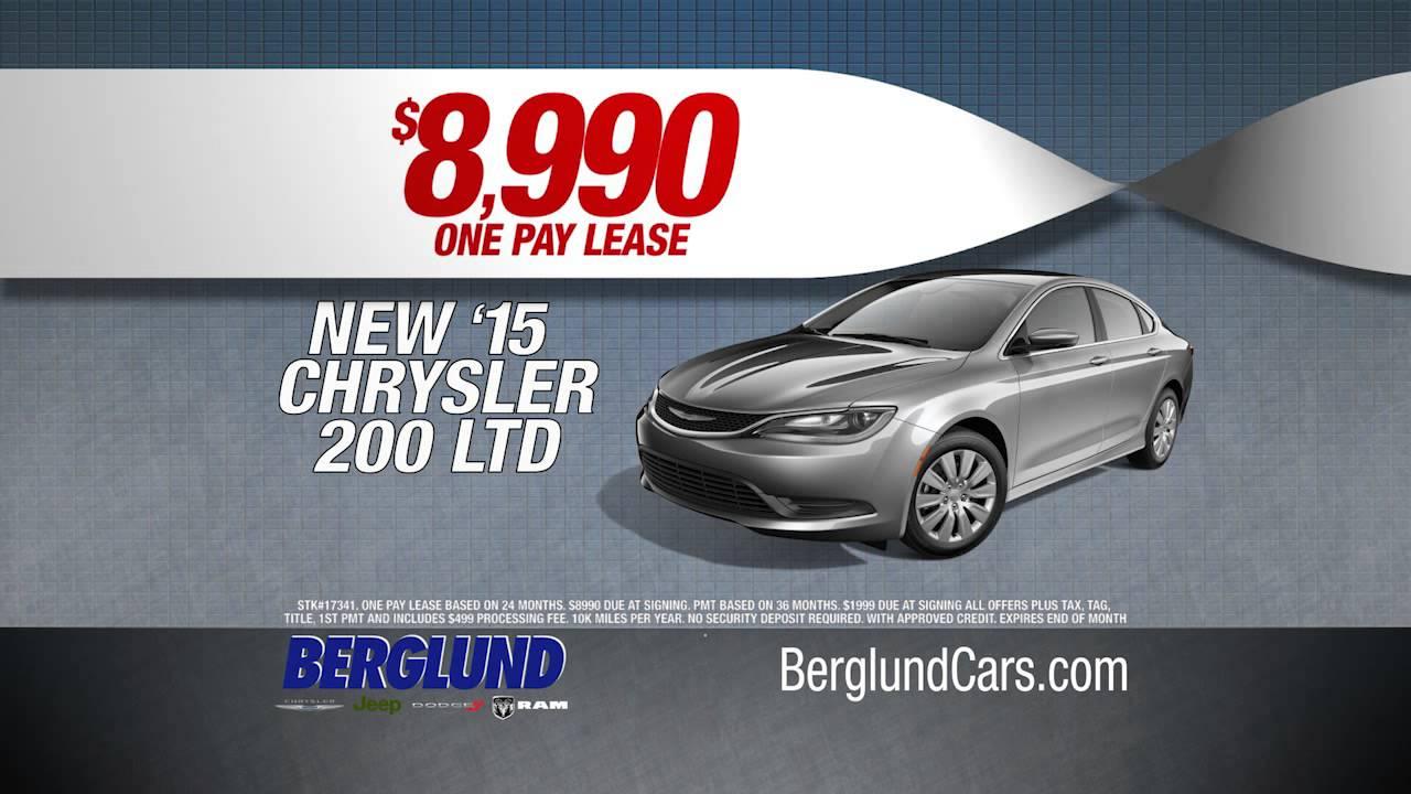 Dealership Commercials | Roanoke VA | Berglund Chrysler Jeep