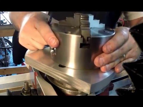 Machining a New Rotary Table Adapter Plate