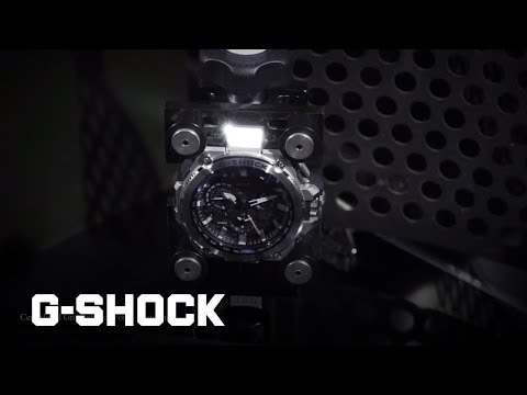 CASIO G-SHOCK Challenge the Limits -- Metal Twisted G-Shock