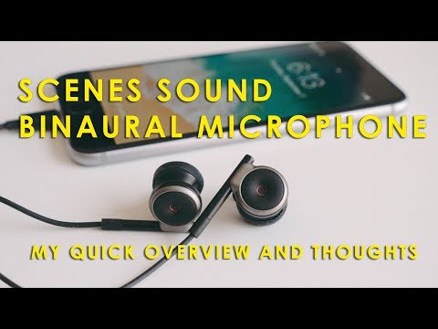 Scenes Sound Binaural 3D Audio Microphone for iPhone - My Thoughts