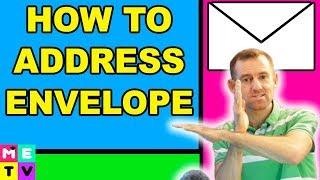 How to Address aฑ Envelope | Postal Code or Zip Code?