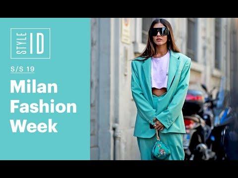 Style ID: Milan Fashion Week S/S 19