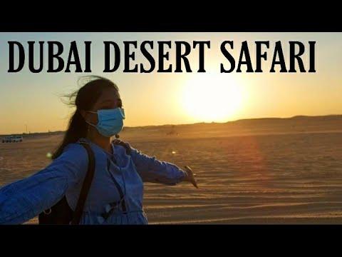 Desert Safari Dubai – Adventure | Belly dance, Camel Ride, Dune Bashing etc | Vinya Vlogs