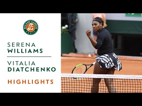 Serena Williams vs Vitalia Diatchenko - Round 1 Highlights |