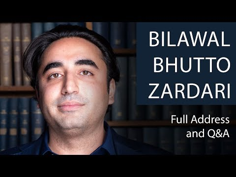 Bilawal Bhutto Zardari | Full Address and Q&A | Oxford Union