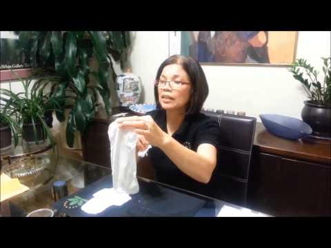 Great Green World Smilife Sanitary Napkin  Demo by Jessie