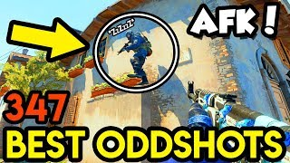 HOW TO LOSE vs AFK PLAYER *0 IQ* - CS:GO BEST ODDSHOTS #347