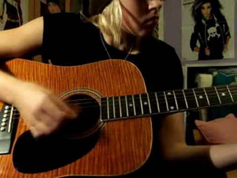 Tokio Hotel - An Deiner Seite (acoustic guitar cover)