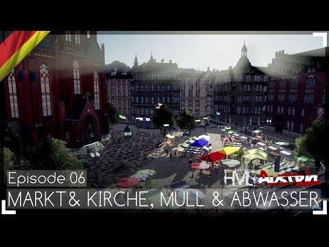 MARKT & KIRCHE, MÜLL & ABWASSER - Austria Episode 06 | Let's Design Cities: Skylines