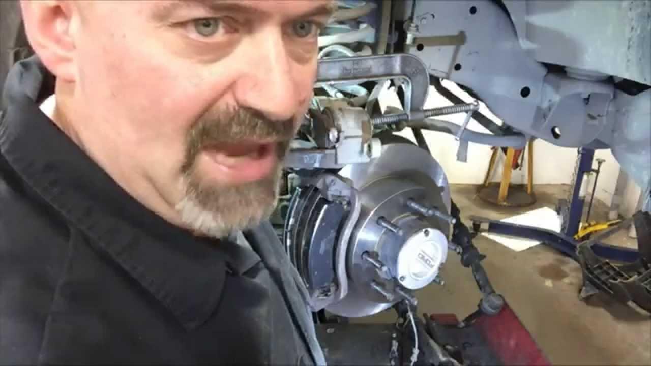 ford f250 f350 super duty 4x4 brake job video youtube. Black Bedroom Furniture Sets. Home Design Ideas