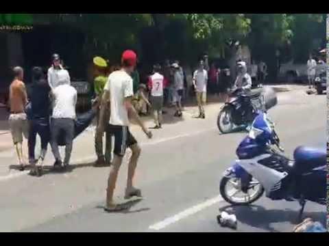 CSGT Hà Tĩnh bị 2 thanh niên đi exciter đâm chết tại chỗ