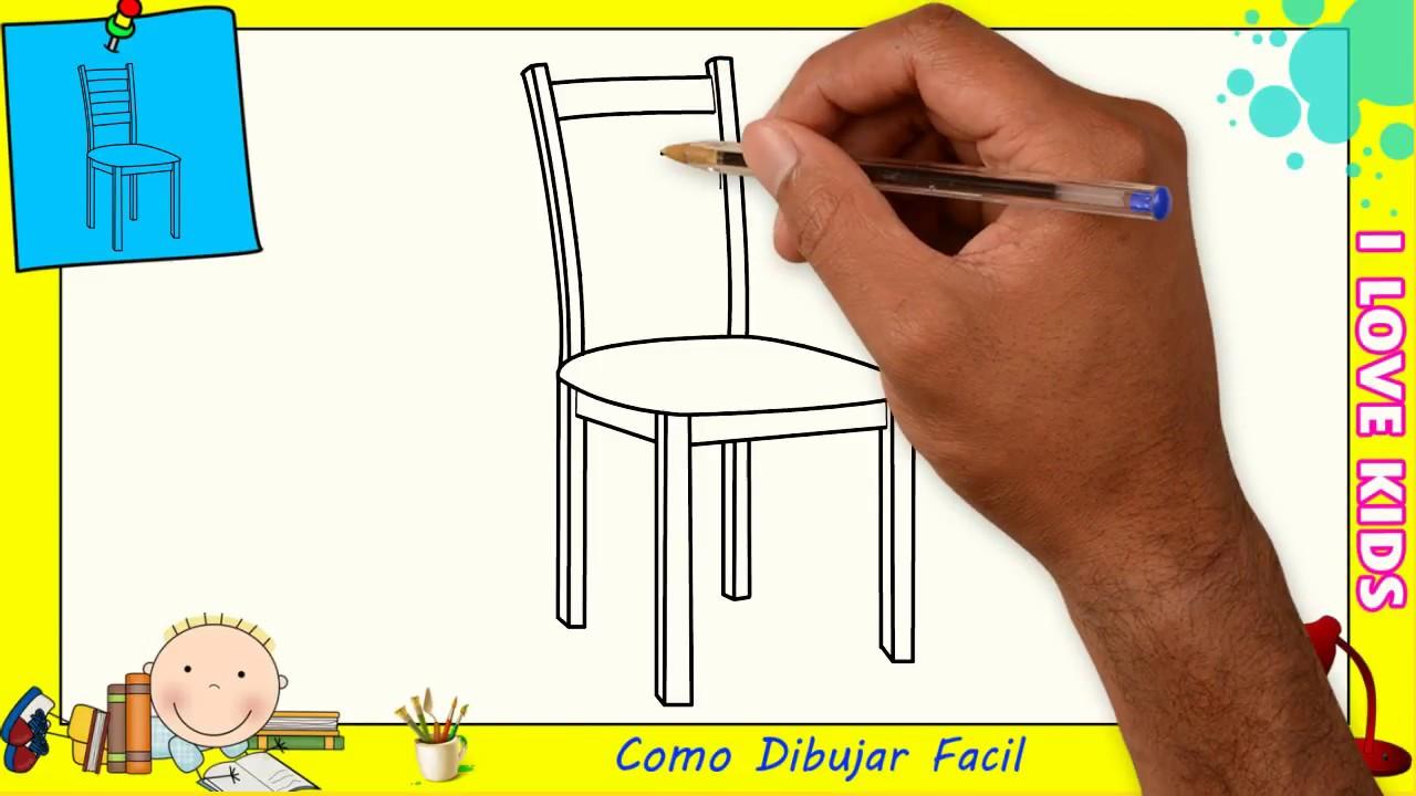 Una Principiantes Como Dibujar A 2 Silla Y Facil Paso Para Niños n0X8wOPk