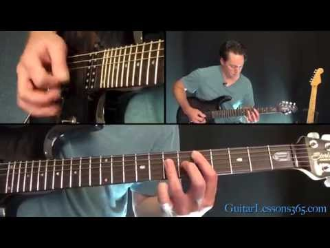 Round and Round Guitar Lesson - Ratt - Chords/Rhythms