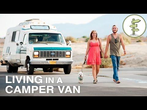 Couple Transforms Old Campervan Into Cozy Home on Wheels - Van Life