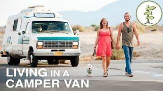 Couple Transforms Old Campervan Into Cozy Hom...