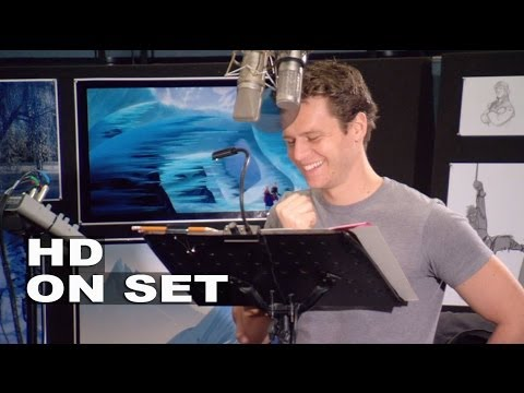 frozen jonathan groff kristoff behind the scenes youtube