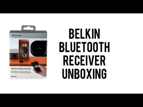 Belkin Bluetooth Music Receiver - Unboxing