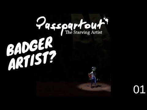 LP #1 Passpartout: The Starving Artist - Can Badger do Art?  