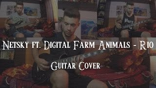 Netsky ft. Digital Farm Animals - Rio ( Metal cover by Outsider )