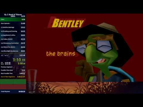 [World Record] Sly 2: Band of Thieves 100% speedrun in 5:49:59
