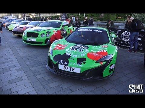 2015 Gumball 3000 Grid Tour - Start in Stockholm
