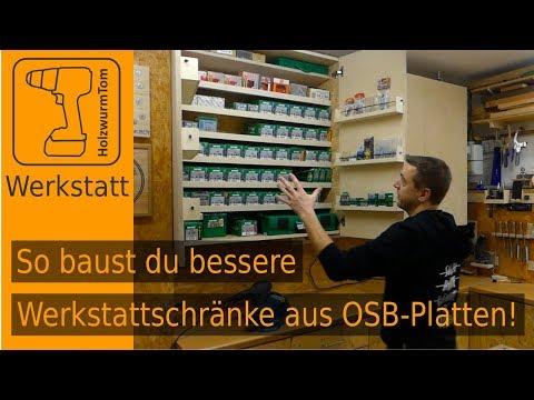 Platzwunder Mit System - Neue Werkstattschränke Für Schrauben Und Mehr...