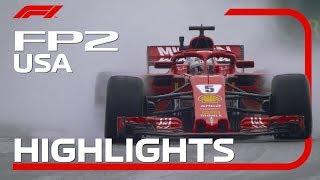2018 United States Grand Prix: FP2 Highlights