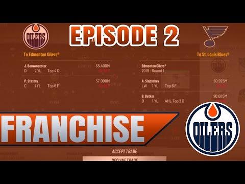 MASSIVE TRADE OFFER (ROSTER CHANGING) | NHL 18 Edmonton Oilers Franchise Mode | Episode 2