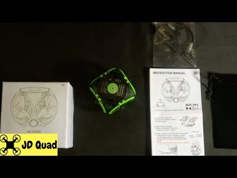 FQ777 FQ26 Miracle Nano Quadcopter Drone Unboxing Video