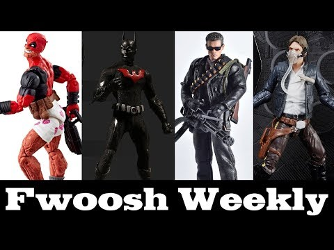 Weekly! Lots of Marvel Legends, Mezco, DC Multiverse, Mortal Kombat, and Terminator!