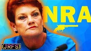 Pauline Hanson and the NRA