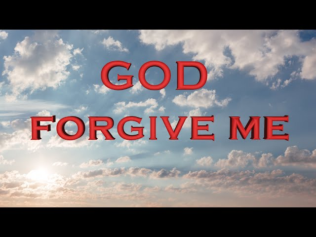 As a man I have sinned but You as God forgive me (Eng subs)