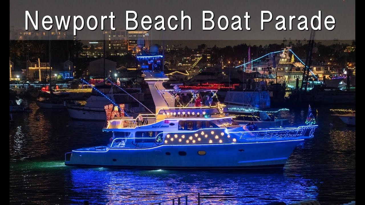 Newport Beach Boat Parade 2018