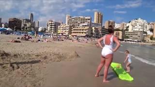 БЕССТЫЖИЕ ДЕВУШКИ и Горячие пляжи ИСПАНИИ! И это не дикий пляж! Отдых на море, путешествие!