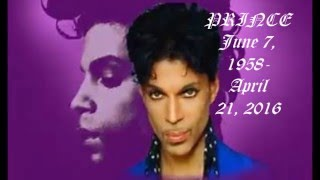 "PRINCE (NEW VIDEO) ""CALL MY NAME"" NEW photos Tribute by Donovan The Entertainer"
