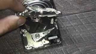Ремонт жёсткого диска,ноутбука,нетбука,своими руками,видео урок#42(Последствия ремонта)