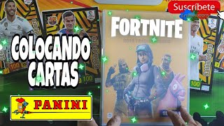 PLACING LETTERS FORTNITE SERIE 1 PANINI, Cartes à collection.