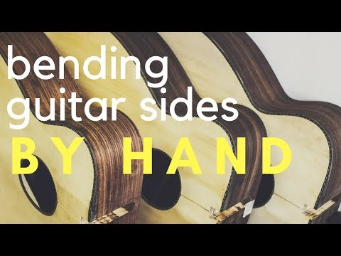 how to make a guitar bending guitar sides with nk forster youtube. Black Bedroom Furniture Sets. Home Design Ideas