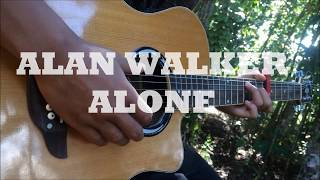 ALONE - ALAN WALKER (Cover by SATURDAY Band) Fingerstyle Guitar