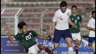 México vs Inglaterra Sub-21 1-2 Resumen Goles Final Torneo Esperanzas de Toulon 09/06/2018