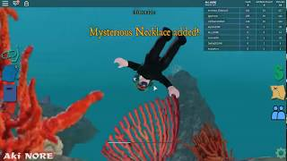 Roblox Scuba Diving at Quill Lake game #2 Buy new diving equipment