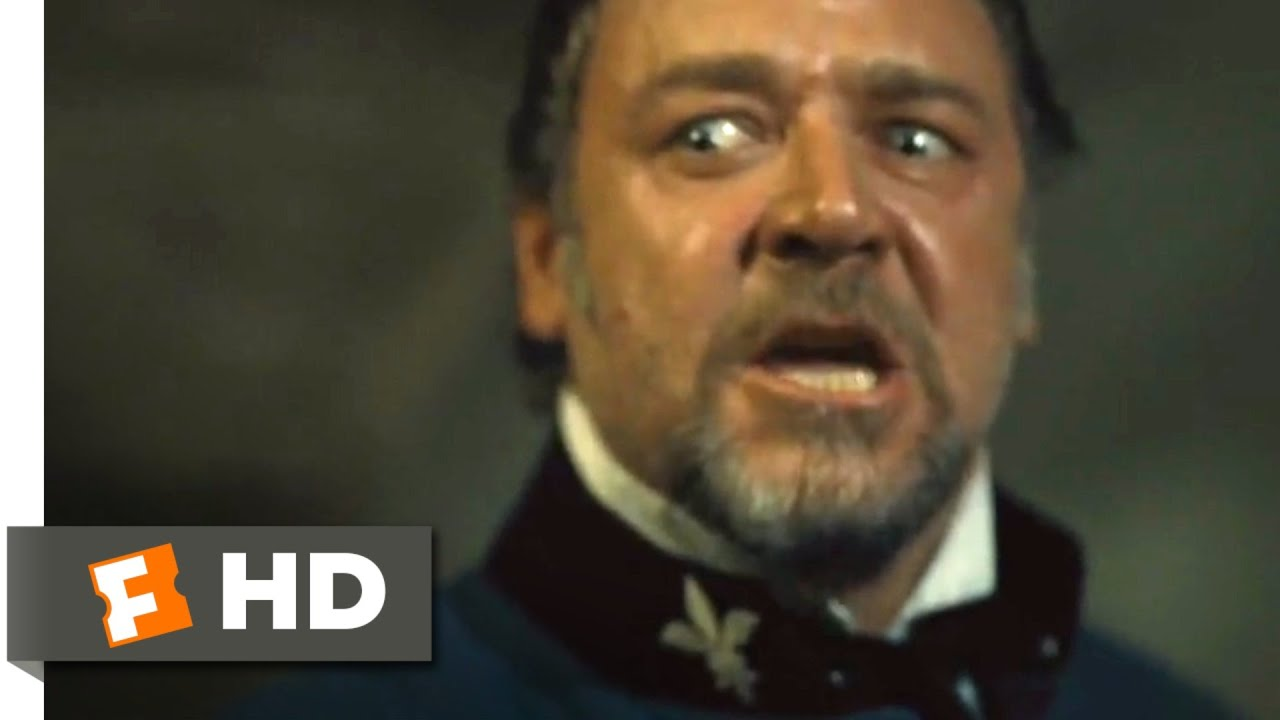 Les Miserables 2012 The Confrontation Scene 2 10 Movieclips Youtube