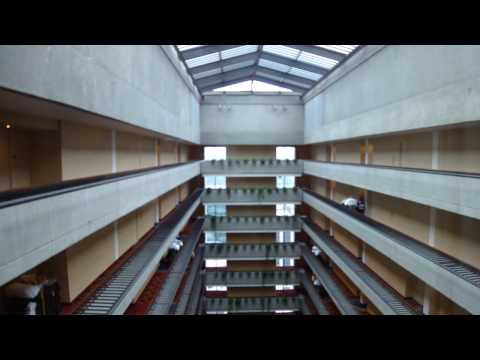 Otis Scenic Elevators at Marriott Marquis Hotel Atlanta (HD Retake)