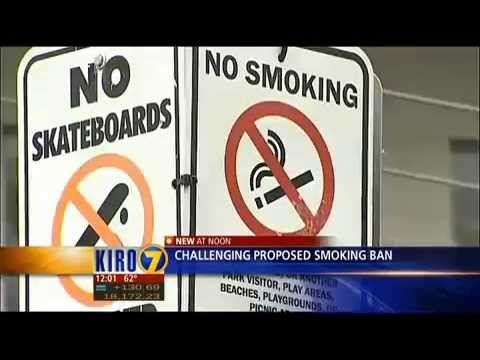 Last ditch effort aims to stop Seattle park smoking ban