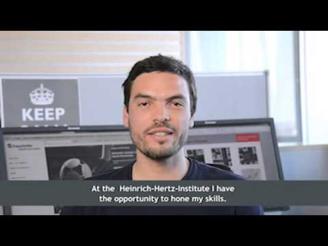 Working at Fraunhofer Heinrich Hertz Institute