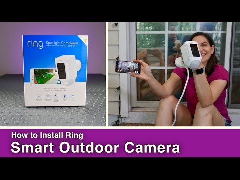 How to Install a Smart Outdoor Security Camera