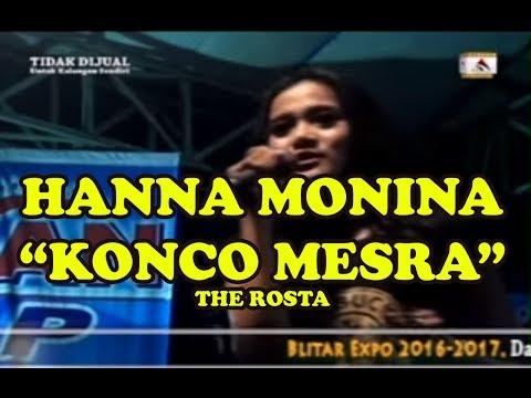 HANA MONINA THE ROSTA -  KONCO MESRA LIVE IN BLITAR